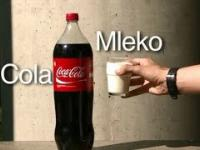 Coca Cola i Mleko - Coke mixed with Milk