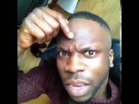 uważaj na fryzjera