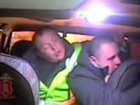 Atak pijanego kierowcy na policjantów