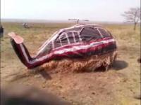 Afrykański helikopter