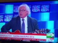 Piosenka na Euro 2016 studio TVP Info