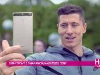 Robert Lewandowski i Tomasz Kot, T-Mobile, najlepsza sieć