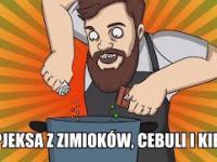 Zapiekanka z zimioków, cebuli i kiełby [Ni mom pojęcia co robię]