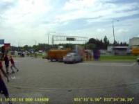 Bójka na parkingu stacji benzynowej w Lublinie