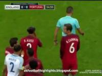 Brutalny faul reprezentanta Portugalii