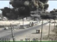 Potężny wybuch ciężarówki