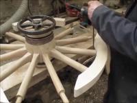 Jak się robi//robiło drewniane koła