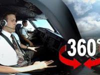 360° cockpit view | SWISS Airbus A320 | Geneva - Zurich
