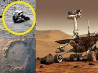 Najdziwniejsze zdjęcia zrobione na Marsie