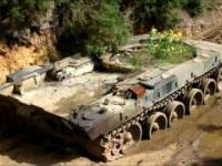 Porzucone legendarne czołgi. Cmentarzysko czołgów.