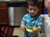 Reakcja dziecka na prezent