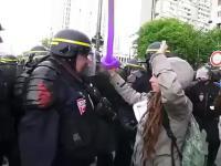 Policjanta nawet balonikiem
