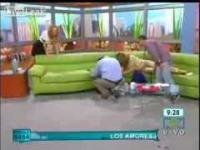 Wpadka na żywo w telewizji śniadaniowej