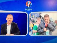 Irlandzcy kibice kontra Węgierski reporter