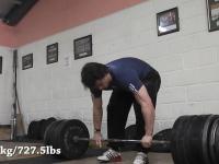 Martwy ciąg, 330kg
