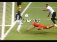 Arkadiusz Milik nie trafia 2 razy do bramki Niemiec w meczu Polska Niemcy 16.06.2016 na Euro 2016
