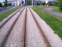 Kierowca, który postanowił zderzyć się z tramwajem