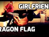 DRAGON FLAG WITH GIRLFRIEND