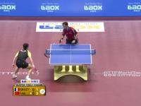 Ciekawe zagranie w tenisie stołowym
