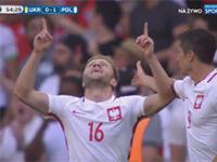 Polska wygrywa z Ukrainą 1:0 po golu Kuby Błaszczykowskiego!