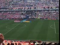 40 tys polskich gardeł śpiewa hymn przed meczem Euro z Ukrainą!