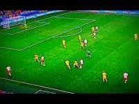 Robert Lewandowski nie trafił do bramki we wczorajszym meczu z Ukrainą