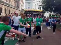 Irlandzcy fani po raz kolejny zaskakują