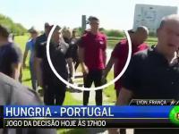 Cristiano się zdenerwował i wyrzucił dziennikarzowi mikrofon