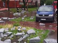 Skutki burzy w Warszawie