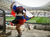 Fanki na trybunach Euro 2016