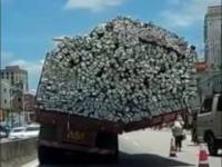 Ładunek ponadgabarytowy - Tak się to robi w Chinach
