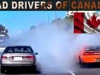 CAR CRASHES & BAD DRIVERS OF CANADA / CAR CRASH COMPILATION 63 / ROAD RAGE