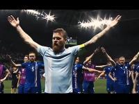 Islandzki okrzyk. Drużyna dziękuje kibicom za doping - kibice dziękują drużynie za grę