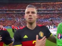 Belgijski bramkarz i jego parcie na brodę
