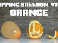 balon i pomarańcza