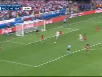 Gol Lewandowskiego w meczu z Portugalią
