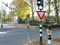 Inteligentna sygnalizacja świetlna w Holandii, priorytet mają rowery i autobusy