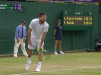 Wimbledon 2016:Wimbledon 2016: Serb Viktor Troicki wdał się w awanturę z sędzią