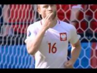 Wszystkie bramki polaków na Euro 2016