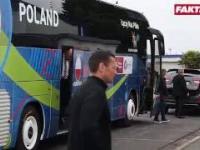 Euro 2016: Arkadiusz Milik omal nie wypadł z autobusu
