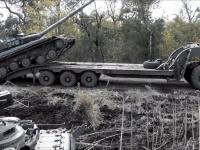 Nieudany załadunek czołgu
