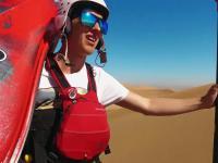 Kajakowanie po pustynii w Namibii
