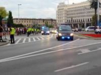 Przejazd Obamy przez ul. Nowy Świat. The NATO Summit in Warsaw