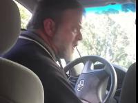 Wkurzająca pasażerka i nerwowa reakcja kierowcy UBER aby opuściła pojazd