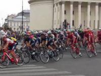 Tour de Pologne - Warszawa Pl. Trzech Krzyży