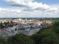 Panorama Bydgoszczy, widok z Wieży Ciśnień - timelapse