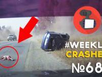 Wyrzuciło dziecko z auta podczas wypadku WeeklyCrashes