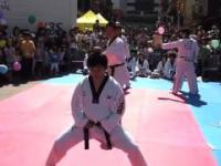 Pokaz karate kick - fail