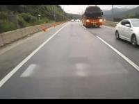 Straszny wypadek w Korei Południowej