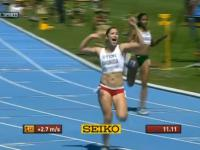 Ewa Ewa Swoboda coraz bliżej 11 sekund, rekord życiowy